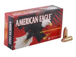 Federal American Eagle Ammunition 9mm Luger 115 Grain Full Metal Jacket Box of 50