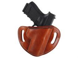 El Paso Saddlery #88 Street Combat Outside the Waistband Holster Right Hand Glock 19, 23, 32 Leather