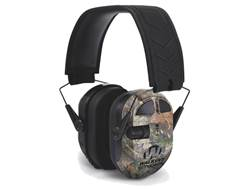 Walker's Ultimate Power Muff Quads Electronic Earmuffs (NRR 24dB) Mossy Oak