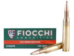 Fiocchi Shooting Dynamics Ammunition 270 Winchester 130 Grain Pointed Soft Point Box of 20