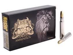 Nosler Safari Ammunition 416 Rigby 400 Grain Solid Box of 20