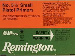 Remington Small Pistol Magnum Primers #5-1/2 Case of 5000 (5 Boxes of 1000)