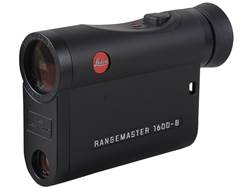 Leica Rangemaster CRF 1600-B Laser Rangefinder 7x Black
