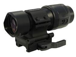 Sightmark Tactical Magnifier 30mm Tube 3x with Slide to Side Quick Detachable Weaver-Style Mount Matte