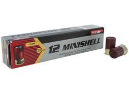 "Aguila Minishell Ammunition 12 Gauge 1-3/4"" #4 and #1 Buckshot 11 Pellets"