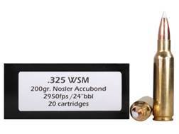 Doubletap Ammunition 325 Winchester Short Magnum (WSM) 200 Grain AccuBond Spitzer Box of 20