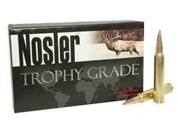 Nosler Trophy Grade Ammunition 300 Weatherby Magnum 210 Grain AccuBond Long Range Box of 20