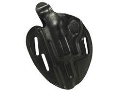 "Bianchi 7 Shadow 2 Holster Left Hand Taurus Judge 2.5"" Cylinder Leather Black"