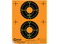 "Caldwell Orange Peel Targets 3"" Self-Adhesive Bullseye (2 Bulls Per Sheet) Package of 15"