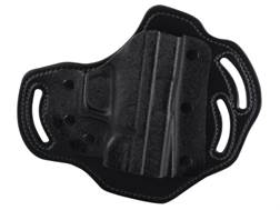 DeSantis Intimidator Belt Holster Right Hand Springfield XD9, XD40, XDM Kydex and Leather Black