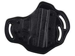 DeSantis Intimidator Belt Holster Left Hand Springfield XD9, XD40, XDM Kydex and Leather Black