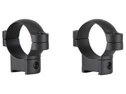 Leupold 30mm Ring Mounts CZ 527 Matte Medium