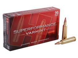 Hornady Superformance Varmint Ammunition 22-250 Remington 50 Grain V-Max Box of 20