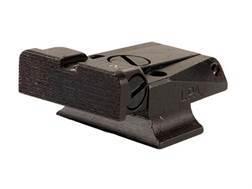 LPA TR Target Rear Sight S&W 3rd Generation Semi Auto with Novak Rear Sight 9mm Luger, 40 S&W Steel Blue