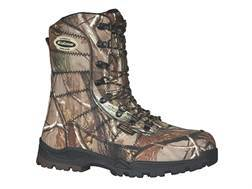 "LaCrosse Silencer HD 8"" Waterproof 1000 Gram Insulated Hunting Boots Nylon Realtree AP Camo Men's 13 D"