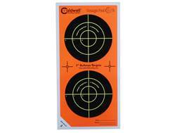 "Caldwell Orange Peel Targets 3"" Self-Adhesive Bullseye (2 Bulls Per Sheet) Package of 75"