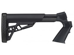 Advanced Technology Tactical 6-Position Collapsible Stock with Pistol Grip & Scorpion Recoil Pad Remington 740, 7400, 760, 7600 Polymer Black