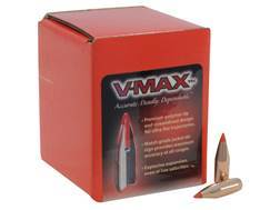 Hornady V-Max Bullets 243 Caliber, 6mm (243 Diameter) 75 Grain Boat Tail Box of 100