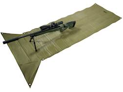 MidwayUSA Competition Shooting Mat PVC Coated Polyester Olive Drab