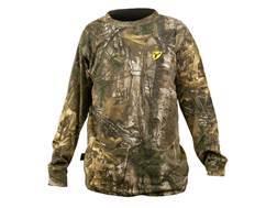 ScentBlocker Men's Performance Cotton T-Shirt Long Sleeve Cotton & Polyester Blend Realtree Xtra Medium 38-40