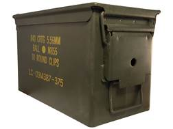 "Military Surplus Ammo Can 50 Caliber 11"" x 5-1/2"" x 7"""