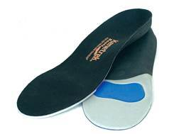 Kenetrek Supportive Insoles High Density Foam and Gel Insert Black Medium (Men 7-8.5)