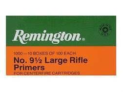 Remington Large Rifle Primers #9-1/2 Box of 1000 (10 Trays of 100)
