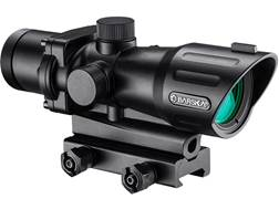 Barska AR-X Red/Green Dot Sight 30mm Illuminated Mil-Dot IR Reticle Matte
