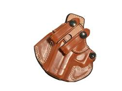 DeSantis Cozy Partner Inside The Waistband Holster Left Hand Glock 43 Leather Tan