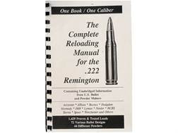 "Loadbooks USA ""222 Remington"" Reloading Manual"