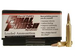 Tubb Final Finish Bore Lapping Ammunition 7mm Remington Magnum Box of 20