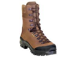 "Kenetrek Mountain Guide 10"" Waterproof Hunting Boots Leather Brown"