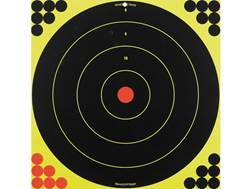 "Birchwood Casey Shoot-N-C 17.25"" Bullseye Targets Package of 5"