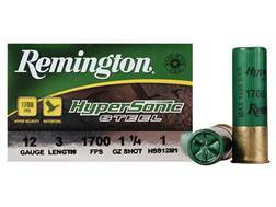 "Remington HyperSonic Ammunition 12 Gauge 3"" 1-1/4 oz #1 Non-Toxic Shot Box of 25"