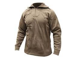 Military Surplus ECWCS Heavyweight Shirt Grade Polypropylene Brown