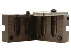 Saeco 2-Cavity Magnum Bullet Mold #640 40 Caliber (408-410 Diameter) 370 Grain Semi-Point