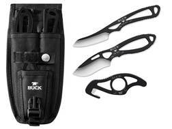 Buck 141 PakLite Field Master Hunting Knife Combo Black