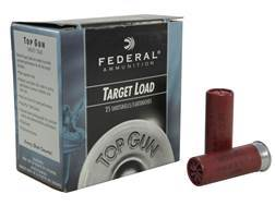 "Federal Top Gun Ammunition 12 Gauge 2-3/4"" 1oz #7-1/2 Shot"