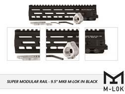 "Geissele Super Modular Rail MK8 M-Lok Free Float Handguard AR-15 Aluminum Black 9.5"""
