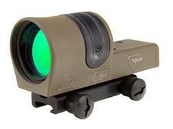 Trijicon RX30-C Reflex Sight 1x 42mm 6.5 MOA Dual-Illuminated Amber Dot with TA51 Mount Cerakote