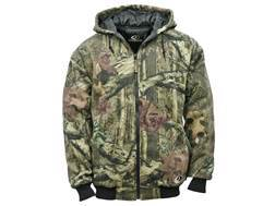 Mossy Oak Apparel Men's Insulated Quilted Fleece Jacket