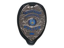 Gould & Goodrich B576 Badge Holder Leather Black