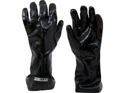 "Baker 14"" Chemical Resistant Gloves PVC Coated Large Black"