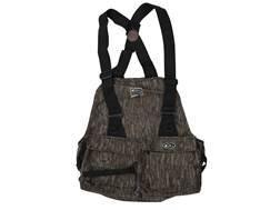 Drake Strap Vest Nylon Mossy Oak Bottomland Camo