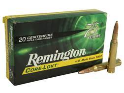 Remington Express Ammunition 270 Winchester 130 Grain Core-Lokt Pointed Soft Point Box of 20