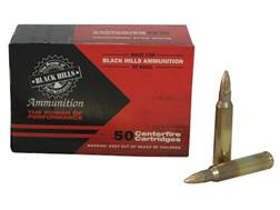 Black Hills Ammunition 223 Remington 55 Grain Full Metal Jacket Box of 50