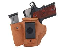 Galco Walkabout Inside the Waistband Holster Left Hand Glock 26, 27, 33 Leather Natural
