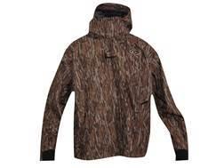 Drake Men's EST Heat Escape Full Zip Waterproof Jacket Polyester Mossy Oak Bottomland Camo Medium