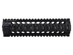 Midwest Industries Gen 2 Free Float 2-Piece Handguard Quad Rail AR-15 Mid Length Aluminum Black
