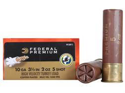 "Federal Premium Mag-Shok Turkey Ammunition 10 Gauge 3-1/2"" 2 oz #5 Copper Plated Shot High Veloci..."